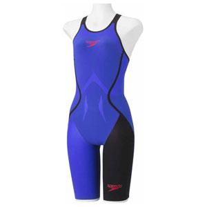 GW-SD48H03-BL-M スピード 女性用競泳水着(Fina承認)(ブルー・M) Speedo Fastskin LZR RACER J ウィメンズニースキン