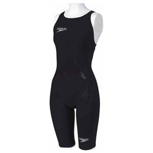 GW-SD44H01-K-L スピード 女性用競泳水着(Fina承認)(ブラック・L) Speedo Fastskin LZR RACER ELITE2 オープンバックニースキンV2