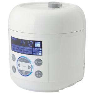 PCE-MX301-WH MAXZEN 電気圧力鍋 ホワイト マクスゼン