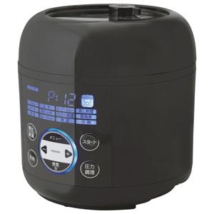 PCE-MX301-BK MAXZEN 電気圧力鍋 ブラック マクスゼン
