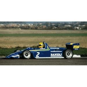 1/43 ラルト トヨタ RT3 F3 A .セナ 1ST F3 スラクストン 11月13日 1982 ウィナー セナ・コレクション【547824302】 ミニチャンプス