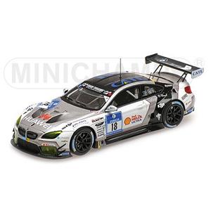 1/43 BMW M6 GT3 SCHUBERT MOTORSPORT FARFUS/KROHN/MULLER/WITTMANN ニュルブルクリング 24時間 2016【437162618】 ミニチャンプス