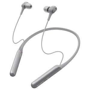 WI-C600N/H ソニー ノイズキャンセリング機能搭載Bluetooth対応ダイナミック密閉型カナルイヤホン(グレー) SONY