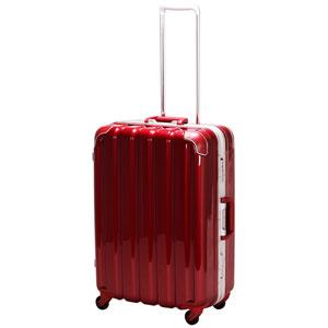 GRE1043-59 MWN シフレ 【メーカー直送のみ】スーツケース ハードフレーム 63L(メタリックワイン) GREEN WORKS(グリーンワークス)