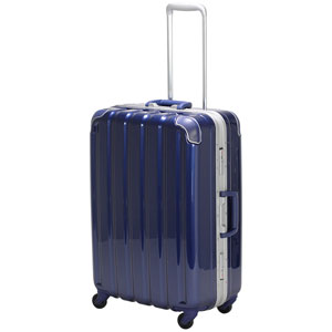 GRE1043-59 MNV シフレ 【メーカー直送のみ】スーツケース ハードフレーム 63L(メタリックネイビー) GREEN WORKS(グリーンワークス)