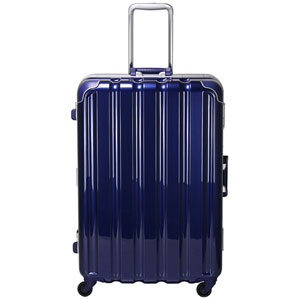 GRE1043-66 MNV シフレ 【メーカー直送のみ】スーツケース ハードフレーム 93L(メタリックネイビー) GREEN WORKS(グリーンワークス)