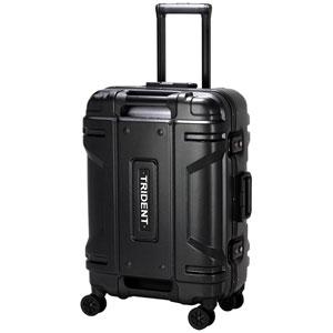 TRI1109-56 MBK シフレ スーツケース ハードフレーム 48L(マットブラック) TRIDENT(トライデント)