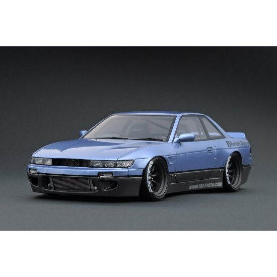 1/18 Rocket Bunny S13 V1 Purple Silver / Gray【IG1133】 ignitionモデル
