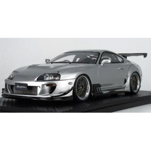 1/43 Toyota Supra (JZA80) RZ Silver【IG1428】 ignitionモデル