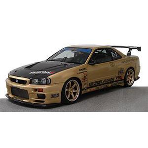 1/18 TOP SECRET GT-R (BNR34) Gold【IG1476】 ignitionモデル