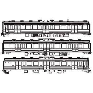 [鉄道模型]アクラス (HO)16番 FH-4021 211系3000番代 3輌セット(未塗装ボディキット)