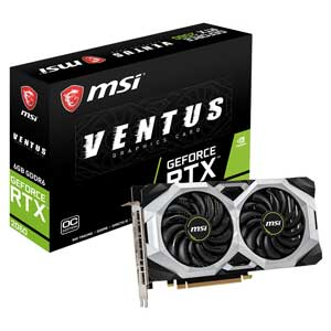 GEFORCE RTX 2060 VEN MSI PCI Express 3.0 x16対応 グラフィックスボードMSI GeForce RTX 2060 VENTUS 6G OC