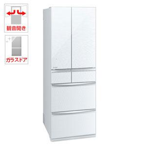 (標準設置料込)MR-MX50E-W 三菱 503L 6ドア冷蔵庫(クリスタルホワイト) MITSUBISHI