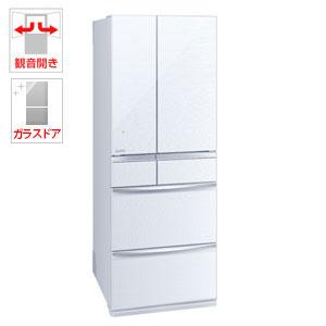(標準設置料込)MR-MX57E-W 三菱 572L 6ドア冷蔵庫(クリスタルホワイト) MITSUBISHI