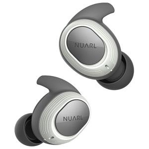 NT100-WH NUARL 完全ワイヤレス Bluetoothイヤホン(ホワイト) ヌアール NT100 WATERPROOF TRUE WIRELESS STEREO EARPHONES
