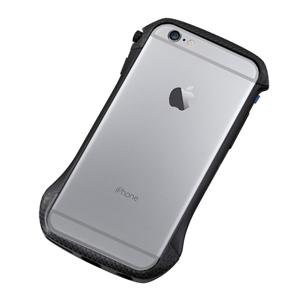 DCB-IP6A6CABK ディーフ iPhone 6s/6用ハイブリッド バンパー(カーボン&ブラック) Deff CLEAVE Hybrid Bumper for iPhone6