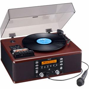 LP-R560K ティアック ターンテーブル/カセットプレーヤー付CDレコーダー TEAC
