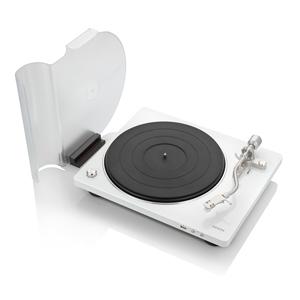 DP-450USBWTEM デノン マニュアル式レコードプレーヤー【USBメモリーへのダイレクト録音対応】(MMカートリッジ付き/ホワイト) DENON