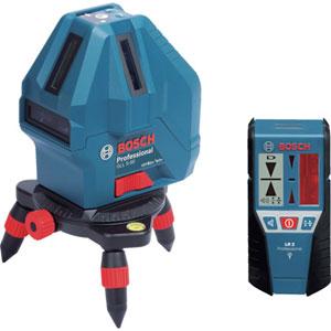GLL5-50XSET ボッシュ レーザー墨出し器 BOSCH 受光器・キャリングバッグ付