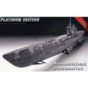 1/72 ドイツ潜水艦 Type VIIC/41(プレミアムエディション)【05163】 ドイツレベル
