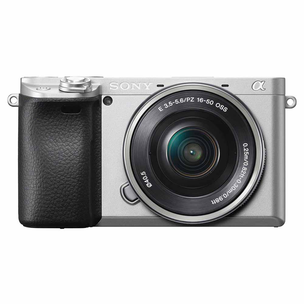 ILCE-6400L-S ソニー ミラーレス一眼カメラ「α6400」パワーズームレンズキット(シルバー) SONY