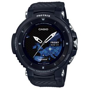 WSD-F30-BK カシオ 【国内正規品】スマートウォッチ PROTREK Smart Outdoor Watch [WSDF30BK]【返品種別A】