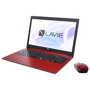 PC-NS700MAR NEC 15.6型ノートパソコン LAVIE Note Standard NS700/MA(カームレッド) 【2019年春モデル】Core i7/メモリ 8GB/HDD 1TB+Optane 16GB/Office H&B 2019