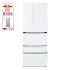 (標準設置料込)GR-R550FZ-UW 東芝 551L 6ドア冷蔵庫(クリアグレインホワイト) TOSHIBA