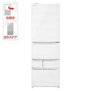 (標準設置料込)GR-R470GW-UW 東芝 465L 5ドア冷蔵庫(クリアグレインホワイト)【右開き】 TOSHIBA