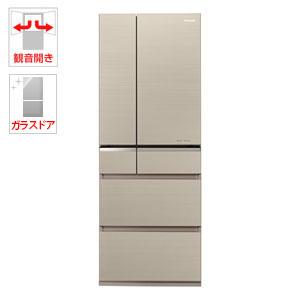 (標準設置料込)NR-F505XPV-N パナソニック 501L 6ドア冷蔵庫(マチュアゴールド) Panasonic