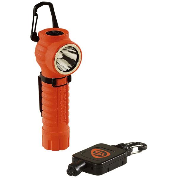 88832 ストリームライト LED懐中電灯 自動巻上コード付(オレンジ)170ルーメン STREAMLIGHT ポリタック90LED