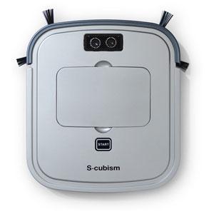 SCC-R05SM エスキュービズム ロボット掃除機(シルバーメタリック / ガンメタリック) 【掃除機】S-cubism