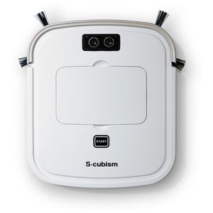 SCC-R05PW エスキュービズム ロボット掃除機(パールホワイト / シャンパンゴールド) 【掃除機】S-cubism