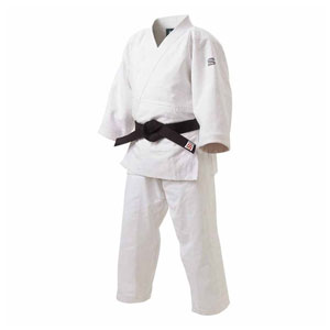 HYK-JZ5 九櫻 特製二重織柔道衣 上下セット(ホワイト・5) 「先鋒」
