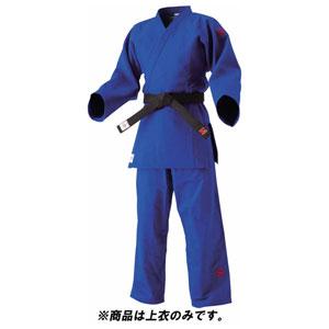 HYK-JNEXC25L 九櫻 選手用 柔道衣(新規格) 上衣のみ(ブルー・L体:2.5L) IJF・全日本柔道連盟認定