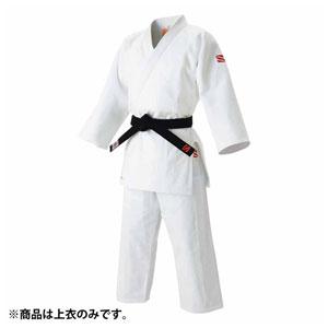 HYK-JOAC35L 九櫻 師範・一般用 伝統的柔道衣(旧規格) 上衣のみ(ホワイト・3.5L) 全日本柔道連盟認定