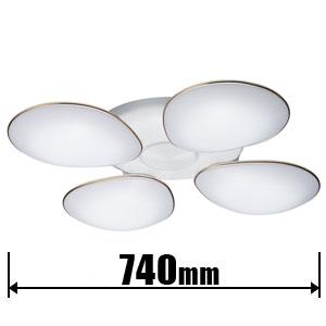 RCH40015D タキズミ LEDシーリングライト【カチット式】 TAKIZUMI フラワーシリーズ