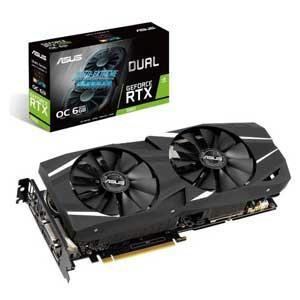 DUAL-RTX2060-O6G エイスース PCI Express 3.0 x16対応 グラフィックスボードASUS DUAL-RTX2060-O6G