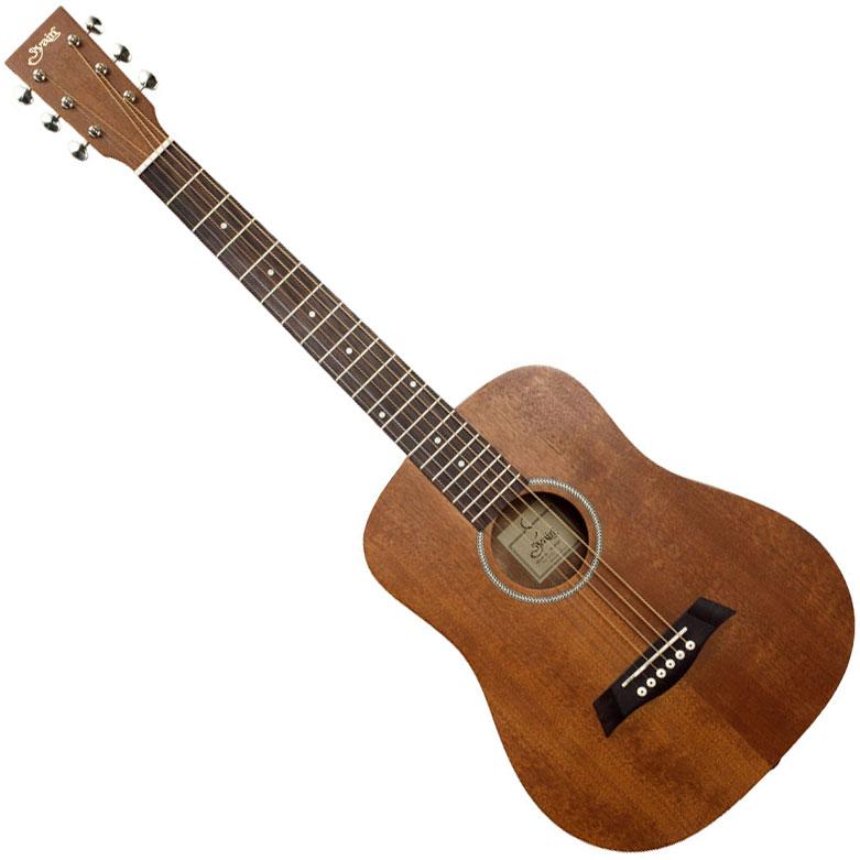 YM-02LH/MH(S.C) S.Yairi(ヤイリ) ミニアコースティックギター(マホガニー)左利きモデル Compact-Acoustic シリーズ