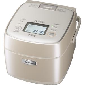 NJ-SWA06-W 三菱 IHジャー炊飯器(3.5合炊き) 白和三盆 MITSUBISHI 本炭釜 [NJSWA06W]