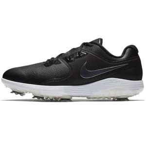 NK18F AQ2196-001 255 ナイキ メンズゴルフシューズ ヴェイパー プロ(ブラック/ホワイト/ボルト/メタリッククールグレー・25.5cm) Nike AQ2196-001