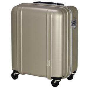 ZER2088-46 MTGO シフレ 【メーカー直送のみ】スーツケース ファスナータイプ 42L(マットゴールド) ZERO GRA(ゼログラ)