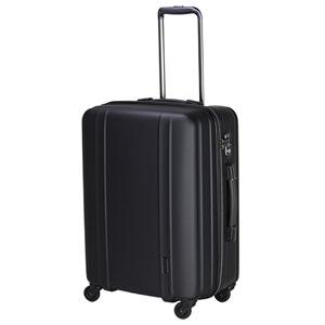 ZER2088-56 MTBK シフレ スーツケース ファスナータイプ 60L(マットブラック) ZERO GRA(ゼログラ)