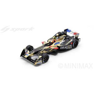 1/18 Techeetah Formula E Team No.25 Winner Rd.12 New York ePrix Driver Championship Formula E Season 4 (2017-2018)【18FE04】 スパーク