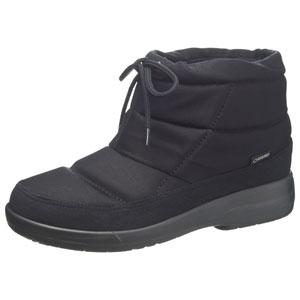 TDY39-74 BK 25.0 アサヒシューズ レディース ゴアテックス 防水ブーツ(ブラック・25.0cm) TOP DRY トップドライ AF39741