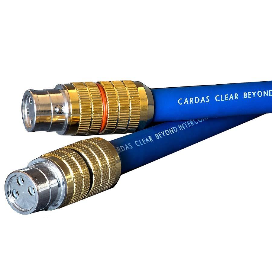 CLEARBEYON CGXLR1.0 カルダス XLRケーブル(1.0m・ペア)クリア・ビヨンド【受注生産品】Cardas CG XLR端子 Cardas Audio Clear Beyond
