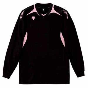 DS-DSS4912-BPK-S デサント 男女兼用 バレーボール 長袖ゲームシャツ(BPK・S) DESCENTE