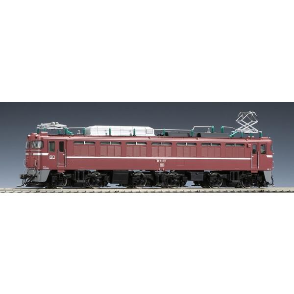 [鉄道模型]トミックス (HO) HO-2009 JR EF81形 電気機関車(81号機・復活お召塗装)