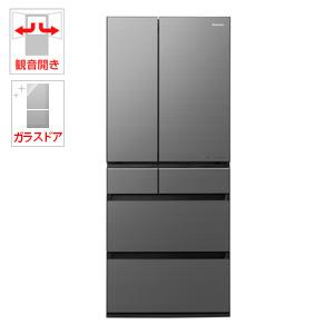 (標準設置料込)NR-F655WPX-H パナソニック 650L 6ドア冷蔵庫(ミスティスチールグレー) Panasonic