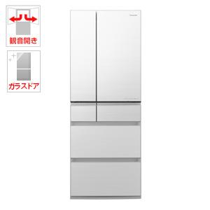 (標準設置料込)NR-F555WPX-W パナソニック 550L 6ドア冷蔵庫(フロスティロイヤルホワイト) Panasonic